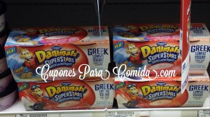 Dannon Danimals Superstars Yogurts