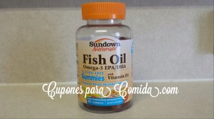Vitamina Sundown Naturals Fish Oil
