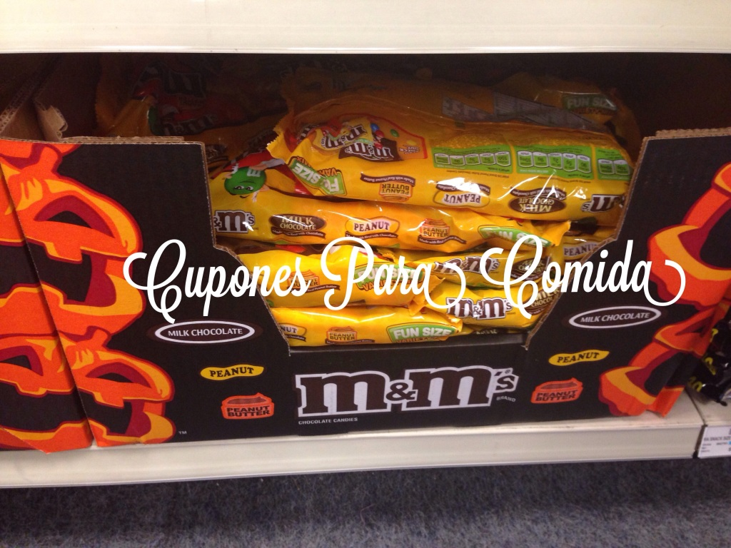 M&M Halloween chocolate candies [10/09/14]]