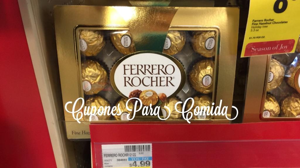 Ferrero Rocher Chocolate 12 pcs 5.3 oz a $4.99 [12/14/14] P - CVS