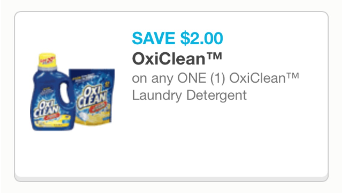 OxiClean cupon