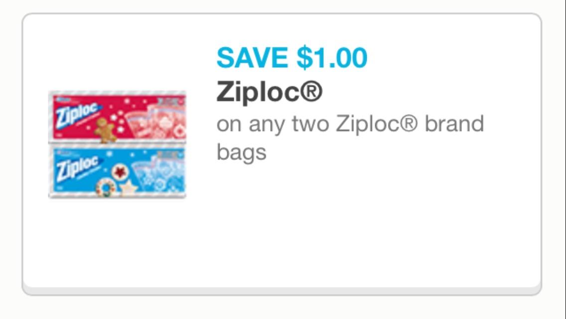 Ziploc cupon