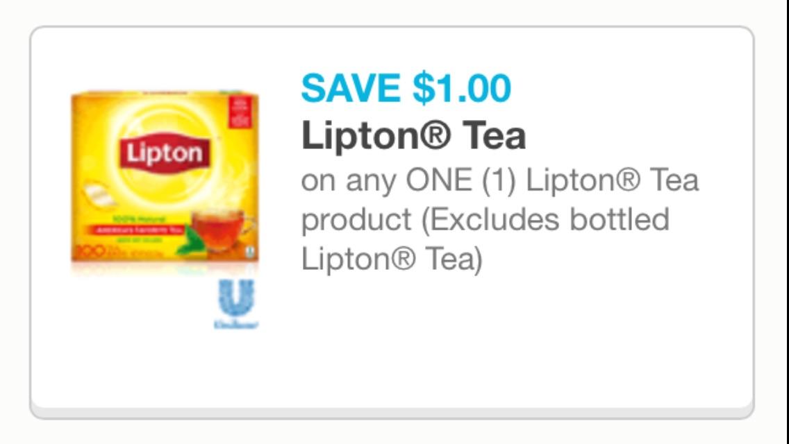 Lipton TEA cupon