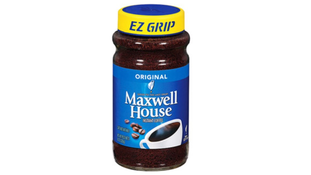 Maxwell House Coffee 8 oz