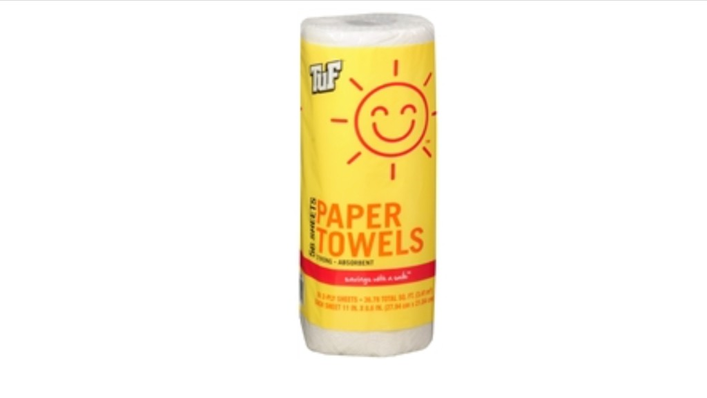 Smile & Save Paper Towels