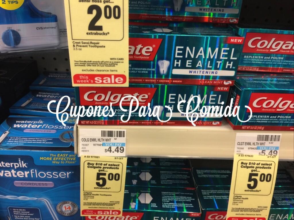 colgate enamel health 3/1/15
