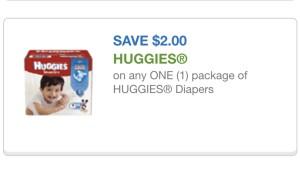 huggies diapers 3/26/15