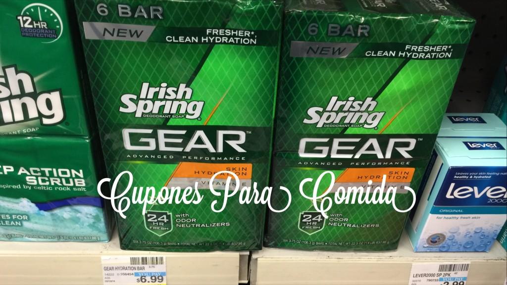 Irish Spring GEAR Bar Soap