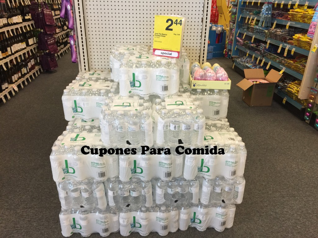 Just The Basic Purified water 24 pk 4/14/15