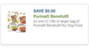 Purina beneful cupon 5/2/15