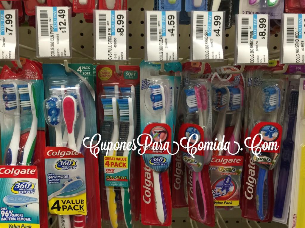 Colgate toothbrush - 6/25/15