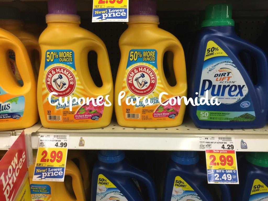 Arm & Hammer liquid detergent 6/26/15
