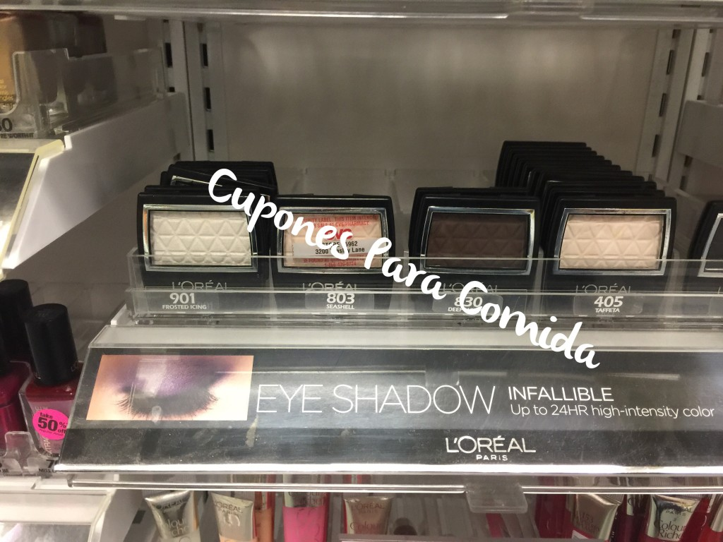 L'Oreal Eye Shadow Single 7/7/15