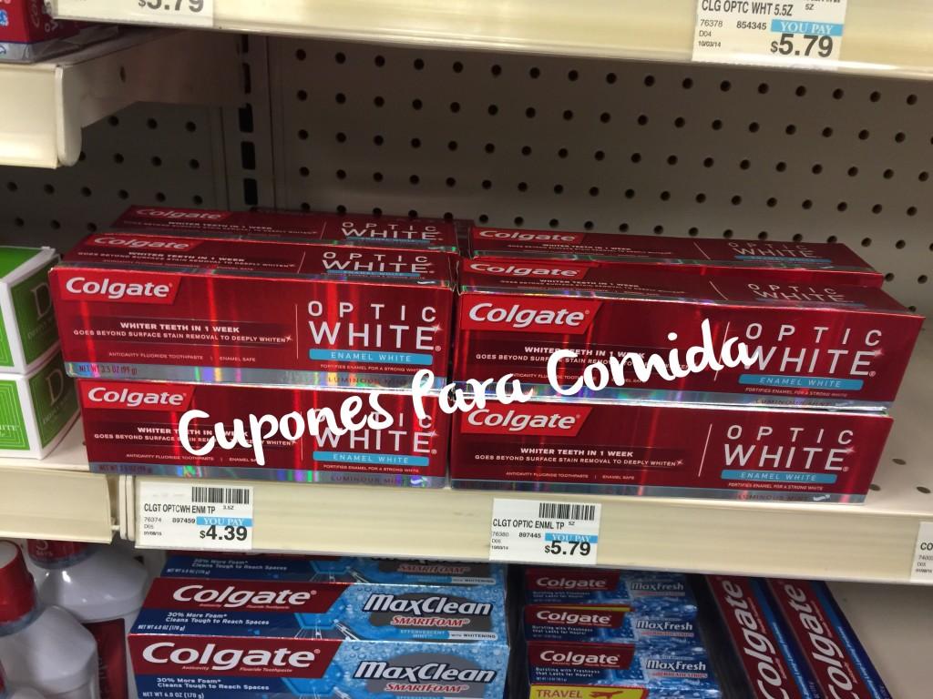 Colgate Optic White Toothpaste 7/8/15