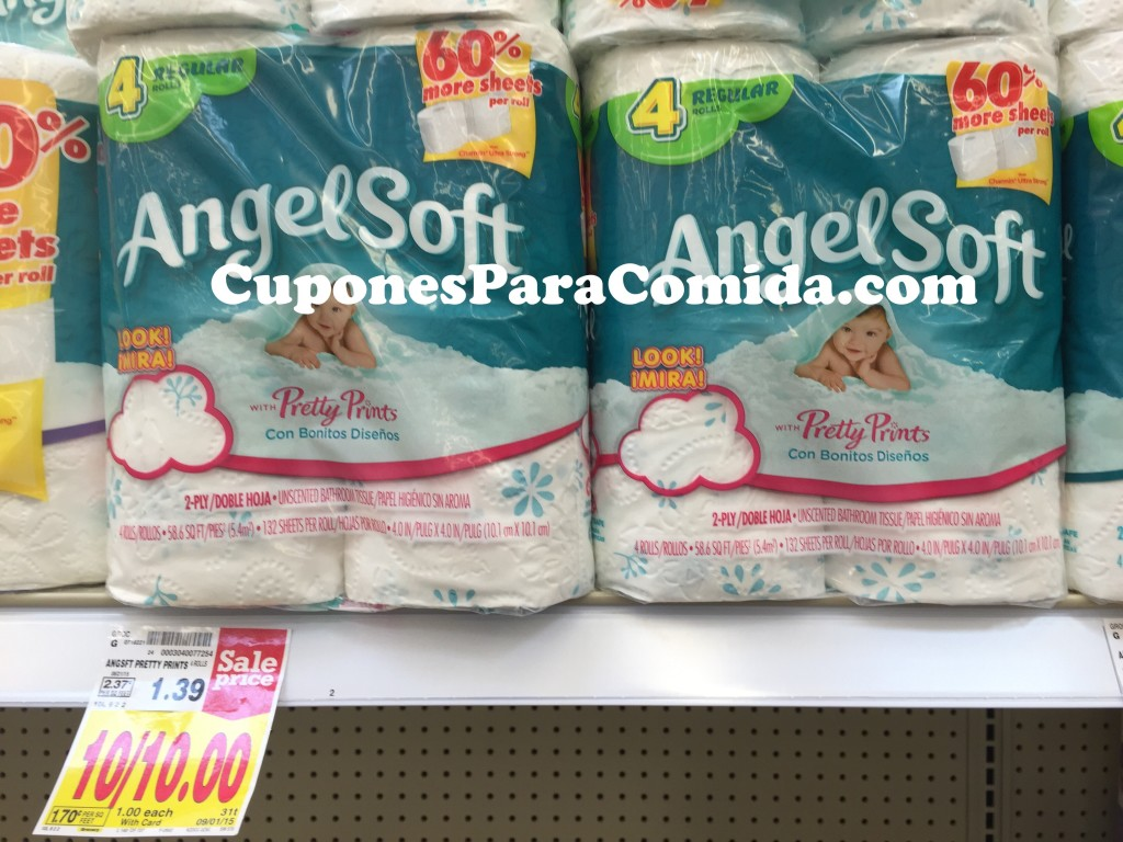 Kroger angel soft bathroom tissue a 045 exp 9 01 for Softest bathroom tissue