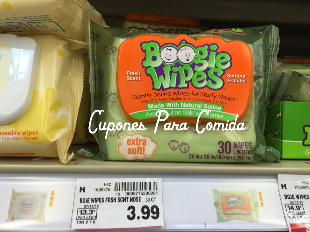 Boogie Wipes 30 ct 9/4/15
