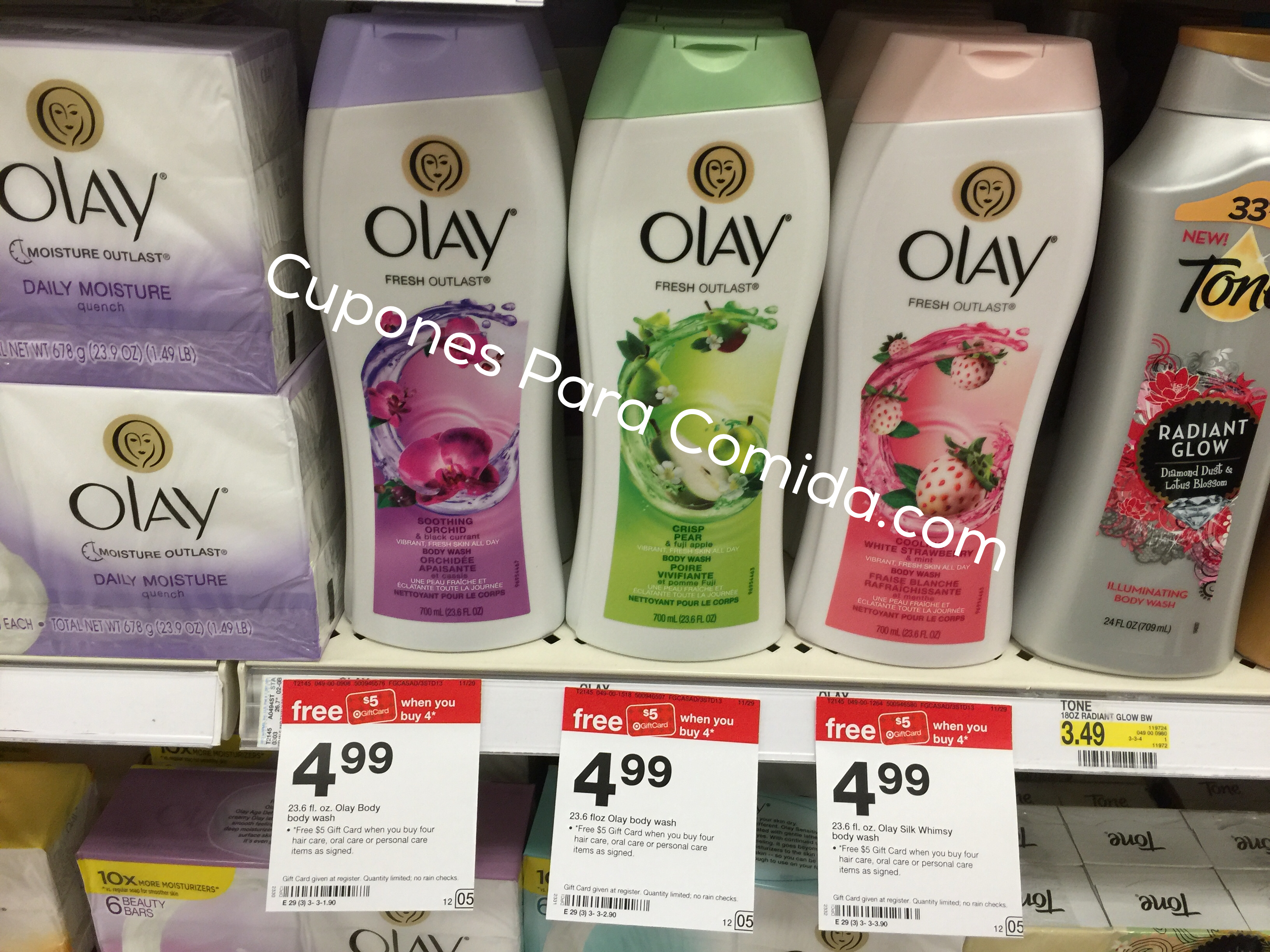 Olay body wash 11/29/15