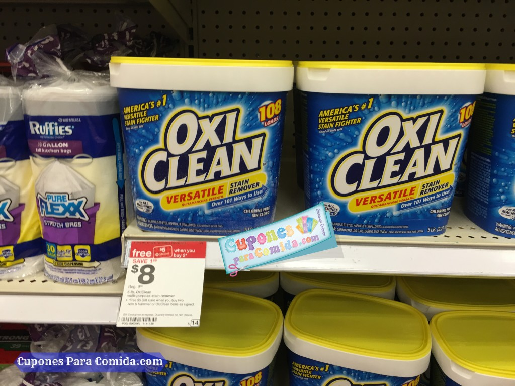Oxi Clean stain remover 4/11/16