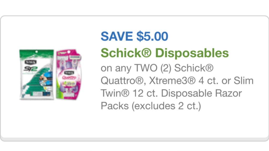 Schick coupon File Aug 14, 6 13 58 PM